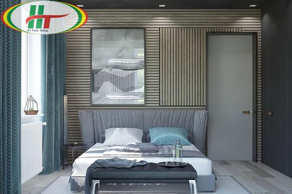 Mẫu phòng ngủ thiết kế ấn tượng nổi bật với tường bằng gỗ-6