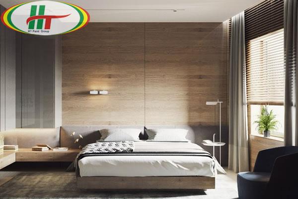 Mẫu phòng ngủ thiết kế ấn tượng nổi bật với tường bằng gỗ-8