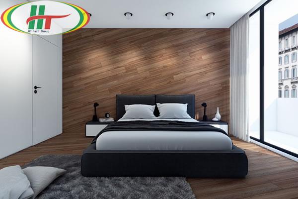 Mẫu phòng ngủ thiết kế ấn tượng nổi bật với tường bằng gỗ-9