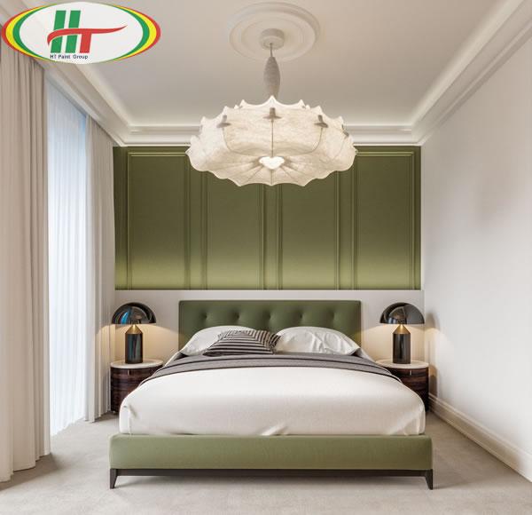 Những mẫu phòng ngủ màu xanh trang trí ấn tượng thu hút-2