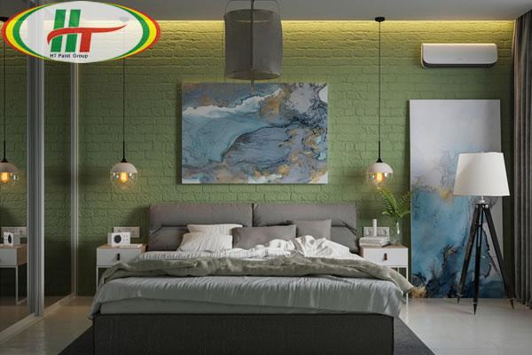 Những mẫu phòng ngủ màu xanh trang trí ấn tượng thu hút-3