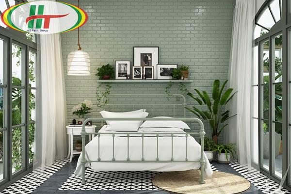 Những mẫu phòng ngủ màu xanh trang trí ấn tượng thu hút-4