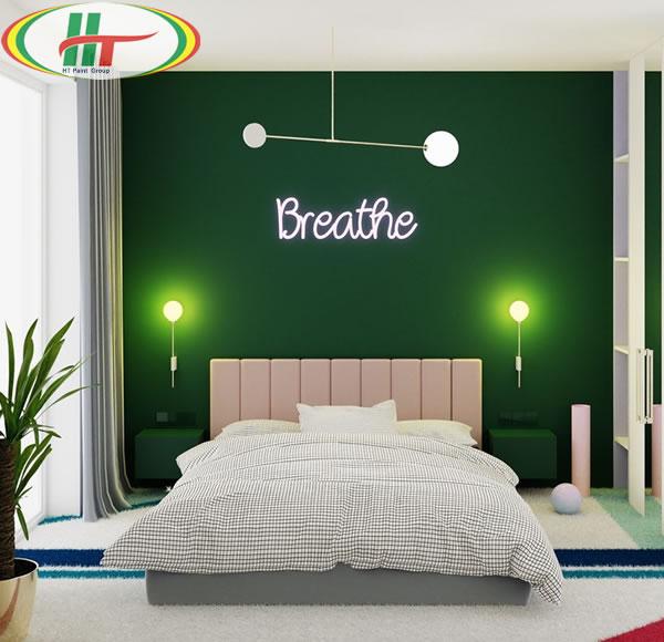 Những mẫu phòng ngủ màu xanh trang trí ấn tượng thu hút-6