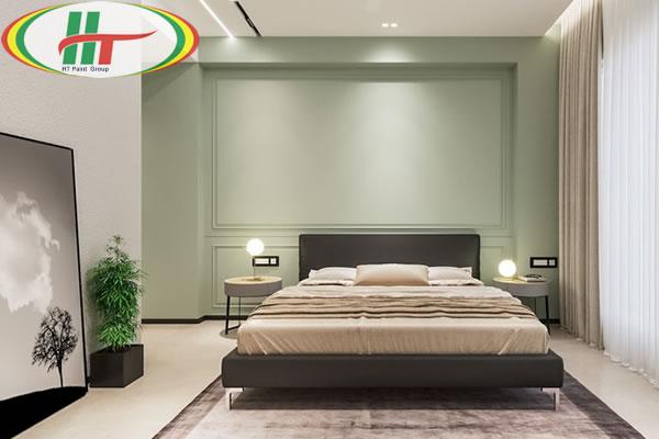 Những mẫu phòng ngủ màu xanh trang trí ấn tượng thu hút-7