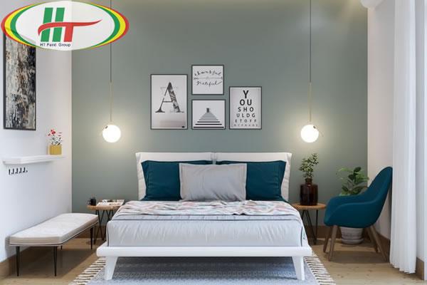 Những mẫu phòng ngủ màu xanh trang trí ấn tượng thu hút-9