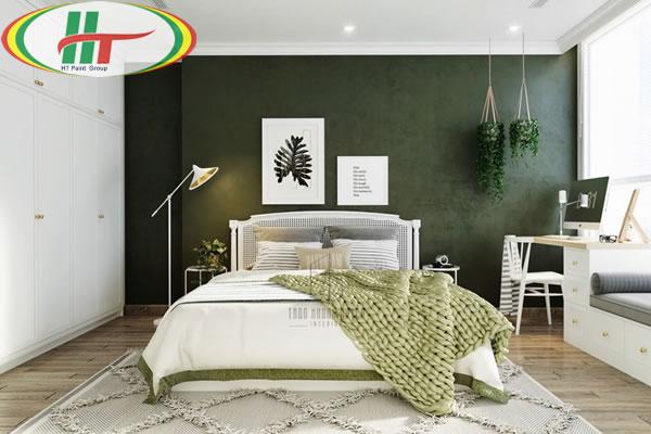 Những mẫu phòng ngủ màu xanh trang trí ấn tượng thu hút-11