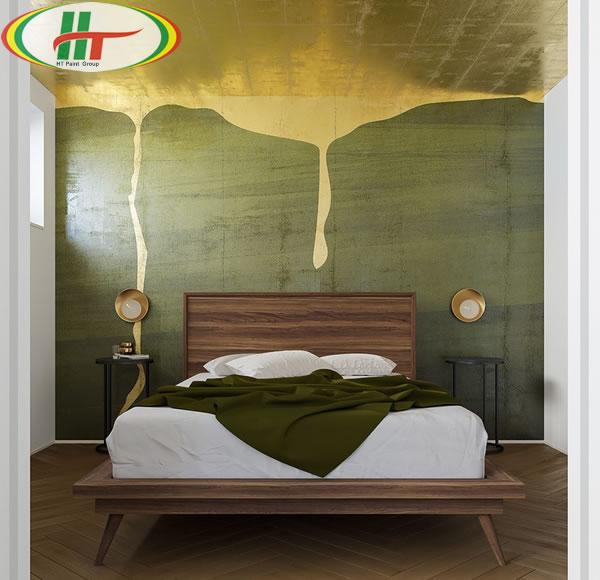 Những mẫu phòng ngủ màu xanh trang trí ấn tượng thu hút-13