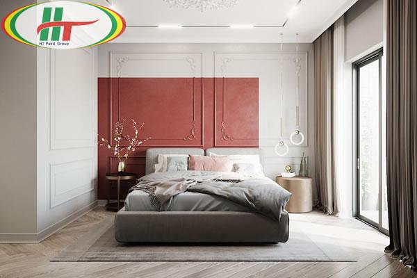 Những mẫu phòng ngủ trang trí nội thất màu đỏ ấn tượng