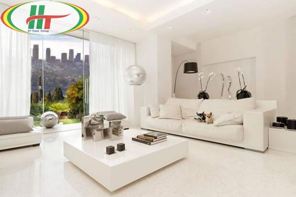Ý nghĩa của màu trắng và sơn nhà đẹp với các sắc độ màu trắng