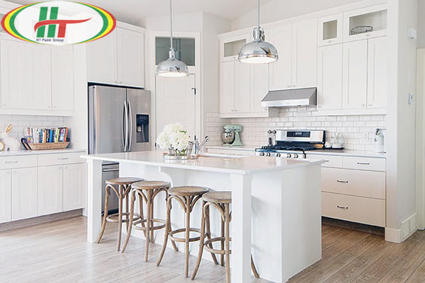 Màu sơn đẹp cho phòng bếp năm 2020