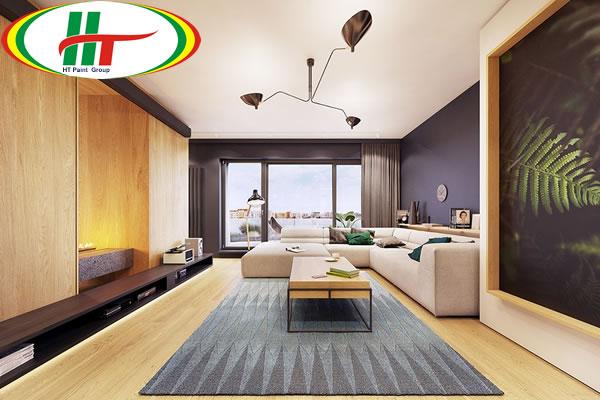 Trang trí ngôi nhà với những điểm nhấn màu sắc ấn tượng