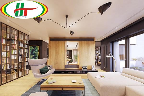 Trang trí ngôi nhà với những điểm nhấn màu sắc ấn tượng-1