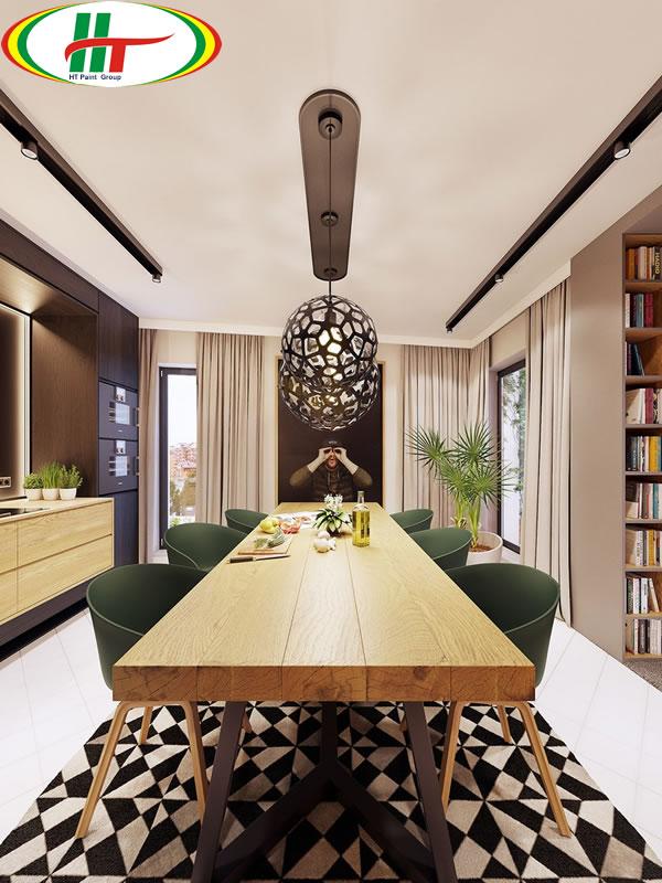 Trang trí ngôi nhà với những điểm nhấn màu sắc ấn tượng-6