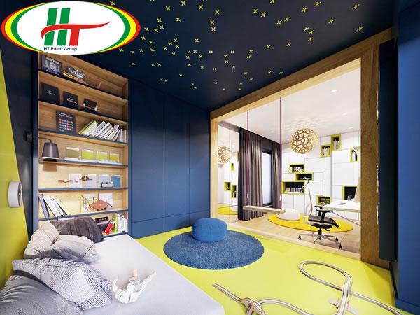 Trang trí ngôi nhà với những điểm nhấn màu sắc ấn tượng-9