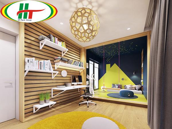 Trang trí ngôi nhà với những điểm nhấn màu sắc ấn tượng-10