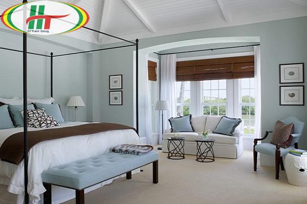 Chọn màu sơn nội thất phòng ngủ
