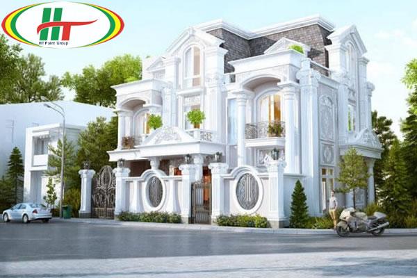 Lưu ý chọn màu sơn ngoại thất cho ngôi nhà