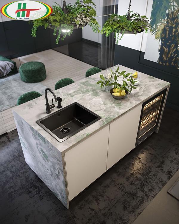 Ý tưởng trang trí nội thất màu xanh lá cây độc đáo ấn tượng-5