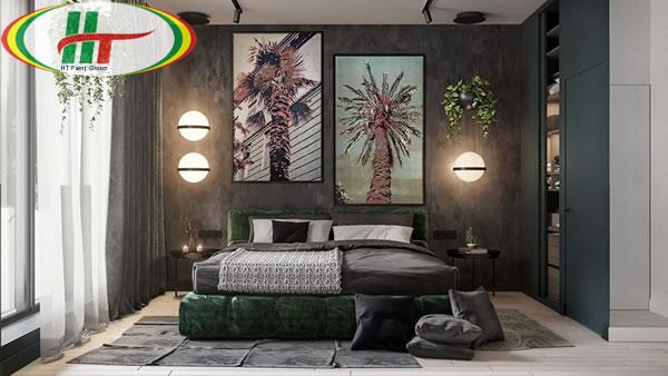 Ý tưởng trang trí nội thất màu xanh lá cây độc đáo ấn tượng-6
