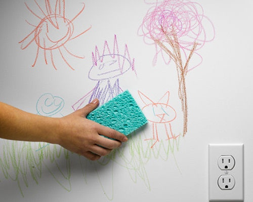 Tiêu chuẩn chọn mua sơn dễ lau chùi cho nhà có trẻ nhỏ