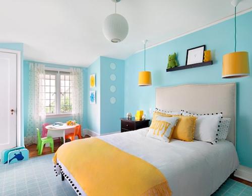 Xu hướng chọn màu sơn nhà trong năm 2018