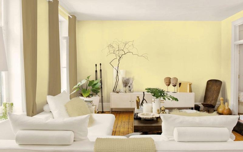 Giải nhiệt mùa hè bằng màu sơn nhà tươi mát