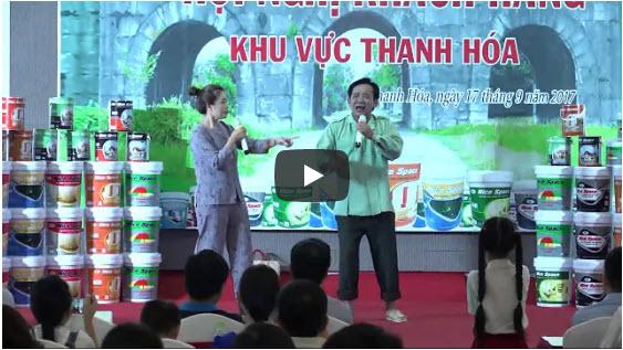 Hãng sơn Nice Space giao lưu cùng nghệ sỹ Quang Tèo
