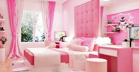 Những gam màu sơn nội thất đẹp cho phòng bé
