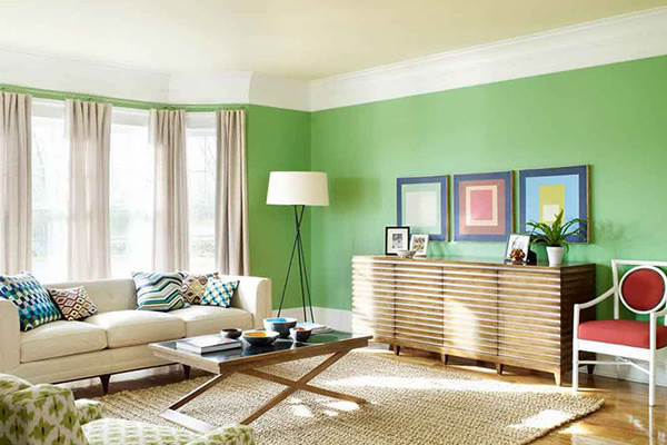 Những điều cần biết khi chọn màu xanh sơn nội, ngoại thất nhà