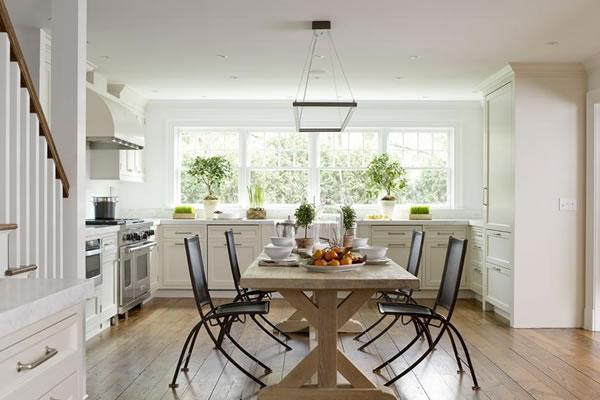 Ngắm nhìn những không gian nhà sơn màu trắng