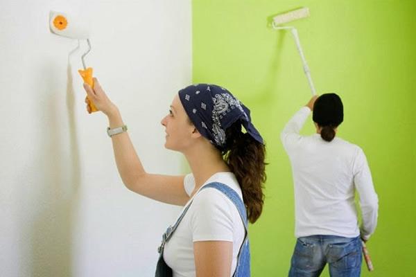 Những câu hỏi khi sơn nhà