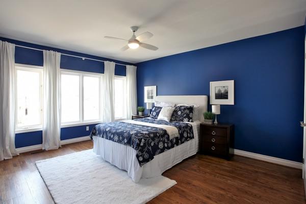 Người mệnh thủy nên chọn sơn phòng ngủ màu gì?