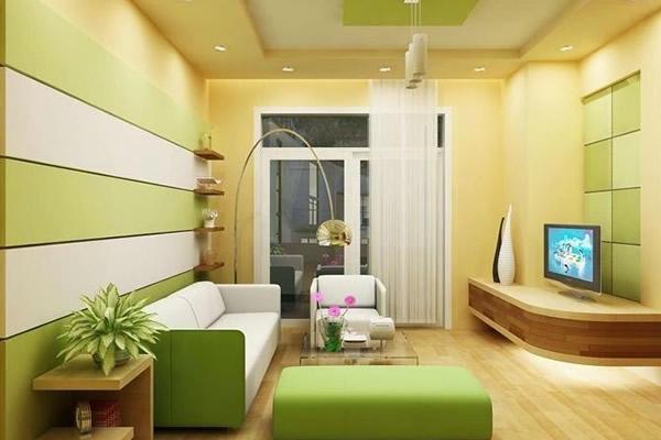 Chọn màu sơn nội thất phòng khách cho tuổi Mậu Thìn
