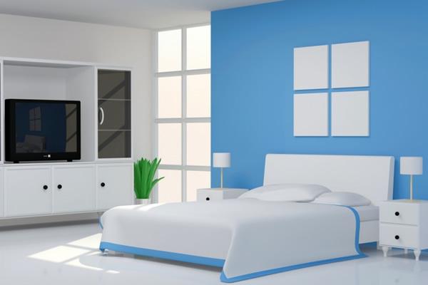 Gam màu sơn nội thất có tác dụng thư giãn