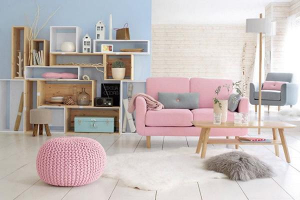 Sơn nội thất nhà màu Pastel tạo cảm giác mới mẻ vui tươi