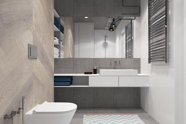 Không gian nhà với những mảng màu đơn giản mà đẹp mê ly