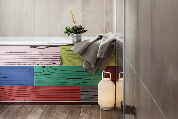 Ấn tượng với căn hộ đầy màu sắc