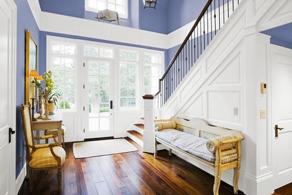 Gợi ý sơn nhà với tone màu Byzantine Blue