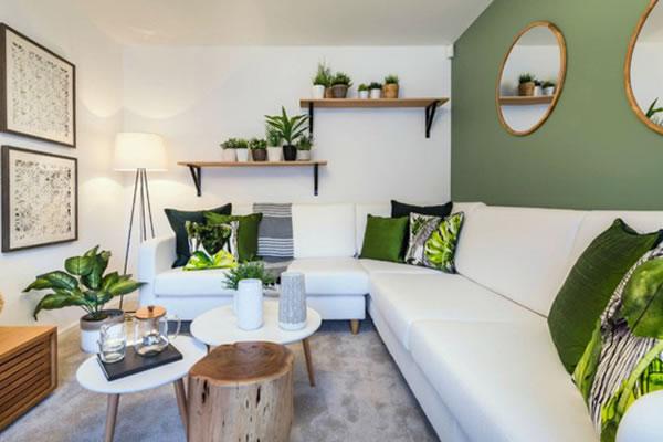 Ý tưởng trang trí nội thất mang thiên nhiên cho không gian phòng khách
