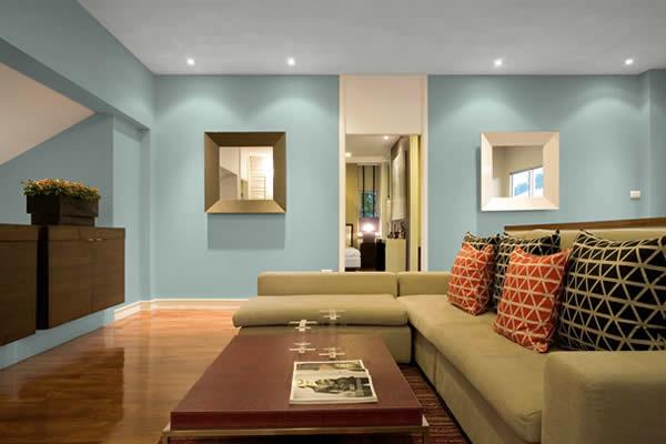 Những chú ý chọn màu sơn nhà để hợp phong thủy và bền màu nhất