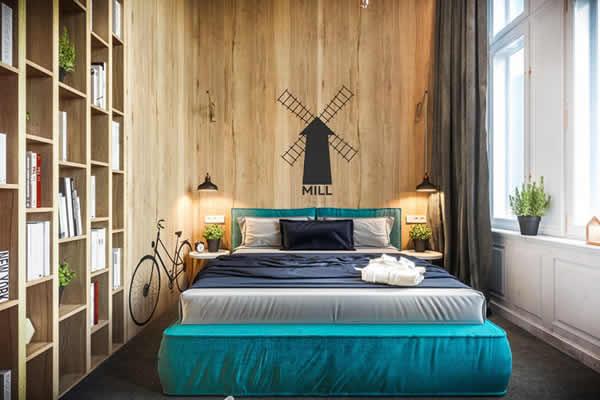 Gợi ý thiết kế nội thất phòng ngủ độc đáo ấn tượng cho căn hộ chung cư