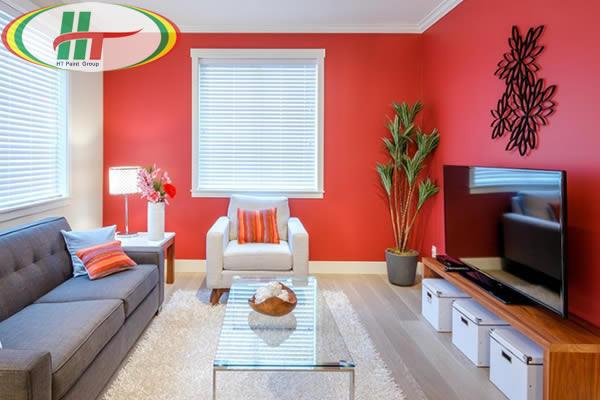 Gợi ý những màu sơn đẹp cho phòng khách thêm lôi cuốn hút ánh nhìn