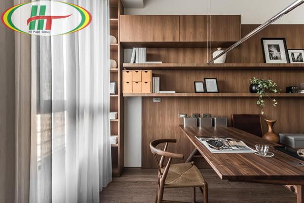 Khám phá mẫu thiết kế phòng làm việc tiện nghi, sang trọng tại nhà