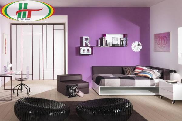 Những màu sơn tường cho phòng ngủ thêm đẹp, ấn tượng
