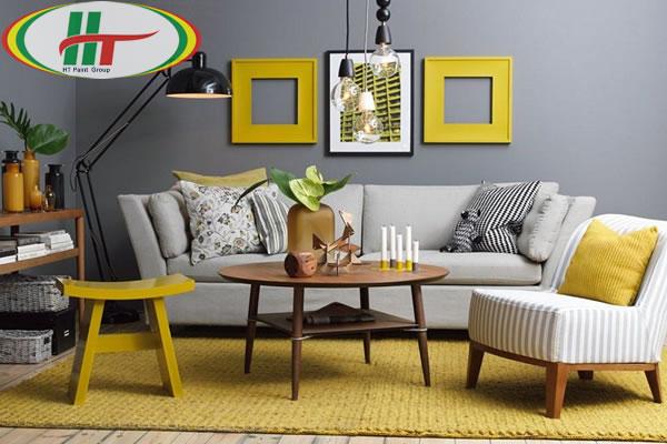 Những màu sắc kết hợp với nhau cho không gian nhà nổi bật hơn