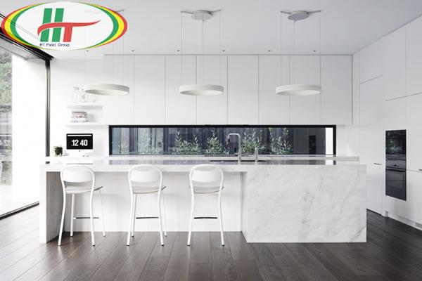 Những màu sơn tường thường được sử dụng trong nhà bếp nhất