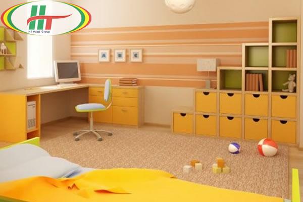 Ý tưởng sơn nhà đẹp với các gam màu vàng