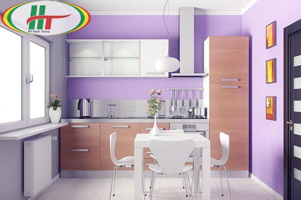 Tổng hợp những màu sơn đẹp trang trí phòng bếp thêm thu hút