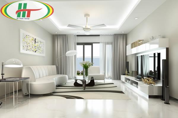 Vì sao sơn nhà màu xanh lá cây nhạt được ưa thích trong trang trí nội thất?