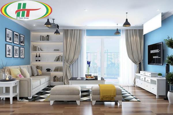 Hướng dẫn cách phối màu sơn nhà với các tông màu nóng, lạnh